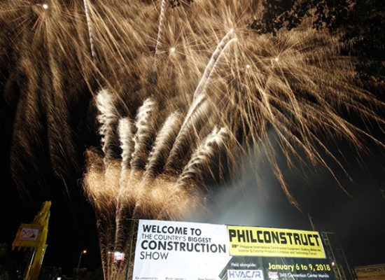 PHILCONSTRUCT – The no  1 construction show in the Philippines